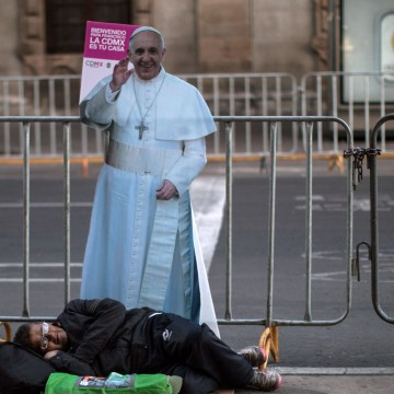 Image: Pope Francis Cardboard