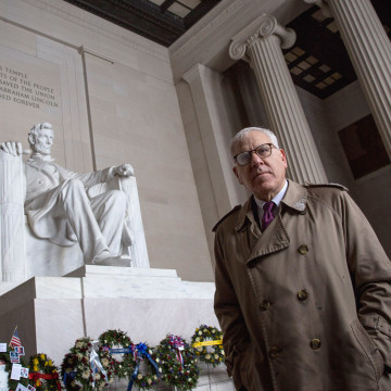 Image: National Park Foundation Receives Philanthropic Gift For Lincoln Memorial Renovation
