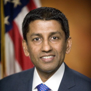 Image: Handout photo of U.S. Deputy Solicitor General Sri Srinivasan