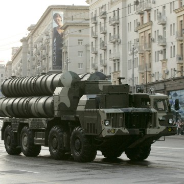 Image: Russian S-300 anti-missile rocket system