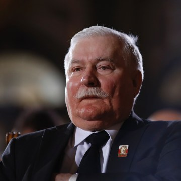 Image: Ex-Polish President Lech Walesa in 2015.