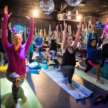 Daybreakers yoga