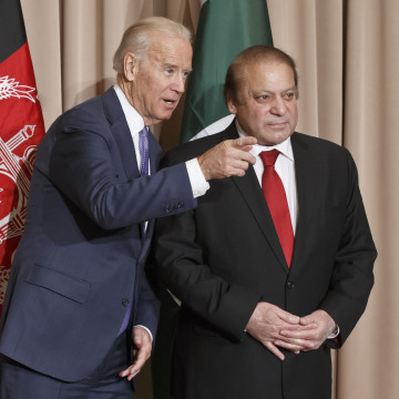 Image: Joe Biden and Nawaz Sharif