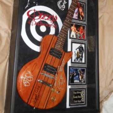 Image: IRS Ozzy Osbourne guitar Auction