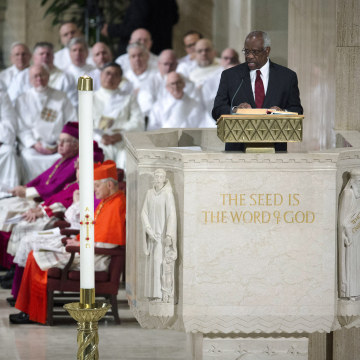 Image: Funeral For Supreme Court Justice Scalia Antonin Scalia Held In Washington, D.C.