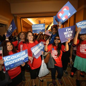 Image: Nevada Hosts Its Democratic Caucus