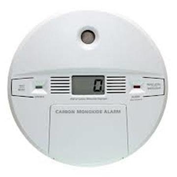IMAGE: Carbon monoxide detector