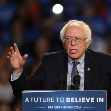 Bernie Sanders Holds Campaign Rally In Greenville, South Carolina