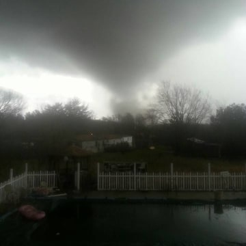 IMAGE: Funnel cloud in Appomattox, Virginia
