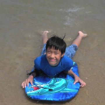 Image: Evie Priestman Surfboard
