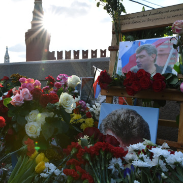 Image: RUSSIA-POLITICS-OPPOSITION-MURDER-NEMTSOV-ANNIVERSARY