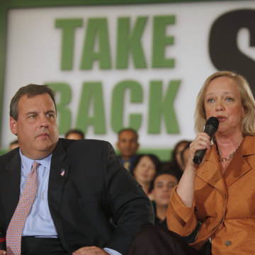 Chris Christie, Meg Whitman