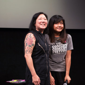 Jenny Yang with Margaret Cho