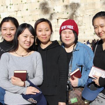 Image: Li Yuan, Yue Ting, Li Jing, Li Chengjin and Gao Yichen