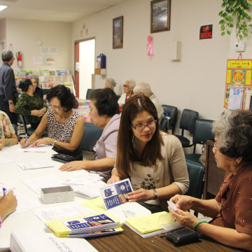 BPSOS, a multi-service center for the Vietnamese community in Houston, has held voter registration drives since December