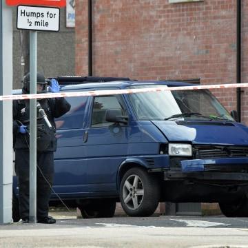 Image: Under-car Explosion In Belfast Injures A Prison Officer