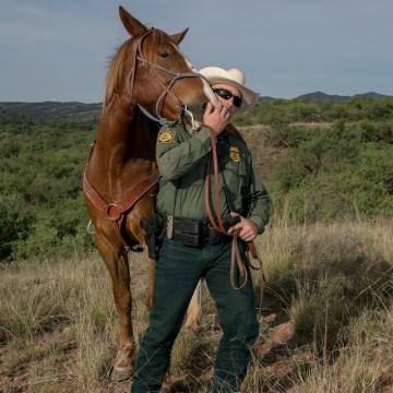 Image: Border Patrol Horse 2