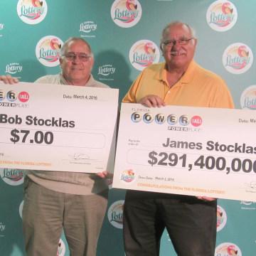 Image: James Stocklas Jackpot winner