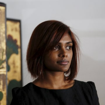 Image: Grace Nathan, whose mother Anne Daisy was aboard missing Malaysia Airlines flight MH370.