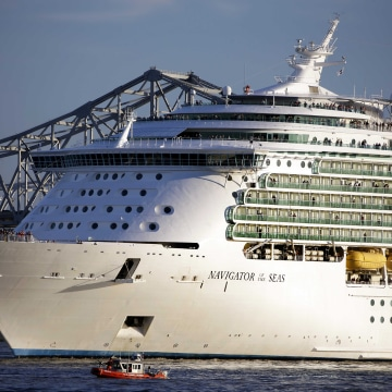 Image: The Royal Caribbean cruise lines Navigator of the Seas