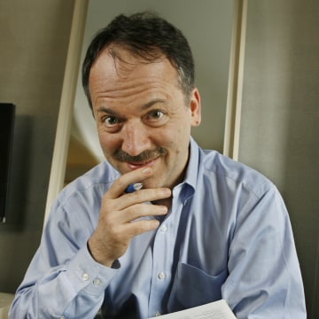 IMAGE: New York Times puzzle editor Will Shortz