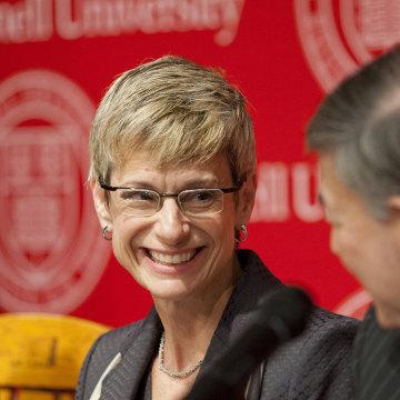 Image: Cornell University President Elizabeth Garrett
