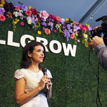 Ana Flores at #WeAllGrow