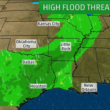 Image: High flood threat forecast for the South