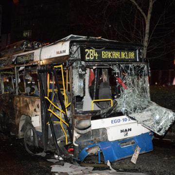 Image: Explosion In Ankara