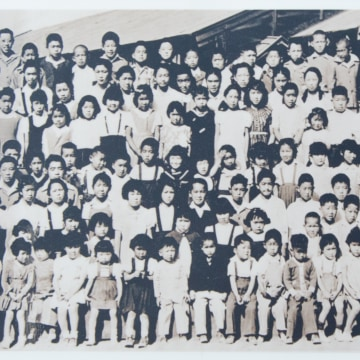 Children at Tule Lake Segregation Center