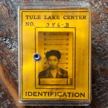 Tule Lake ID card