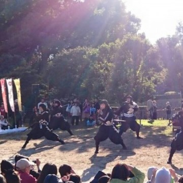 IMAGE: Ieyasu Tokugawa and Hanzo Hattori Ninja Team