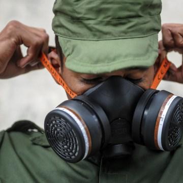 Image: CUBA-HEALTH-ZIKA-FUMIGATION