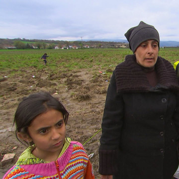 Image: Fatima Ahmad and her daughter Arwa