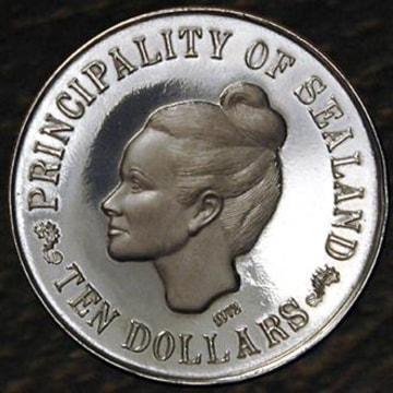 Image: Sealand coins