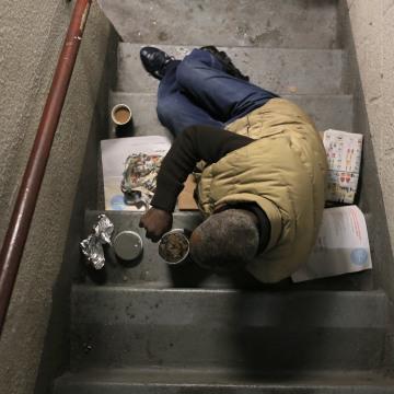 Image: Marvin Bolton, a homeless man living in Harlem
