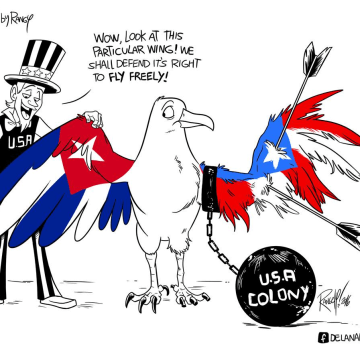 """""""Cuba y Puerto Rico son de un pájaro, las dos alas."""""""