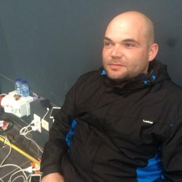 Image: stranded passenger in Leuven, Belgium