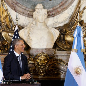 Image: ARGENTINA-US-OBAMA-MACRI