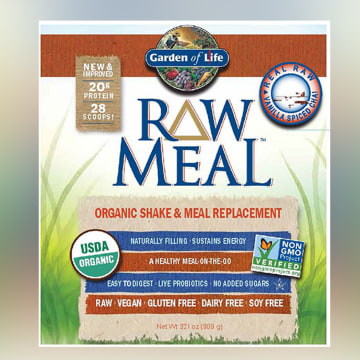 Image: Garden of Life Raw Meal Organic Shake