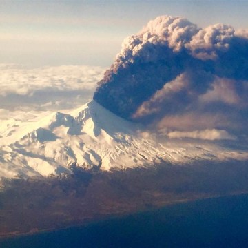 IMAGE: Pavlof Volcano erupts