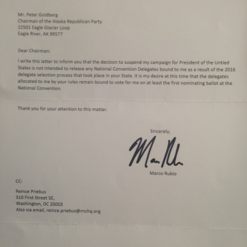 Image: Marco Rubio's Letter to Alaska Republican Party