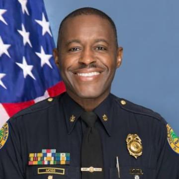IMAGE: Miami police Maj. Delrish Moss