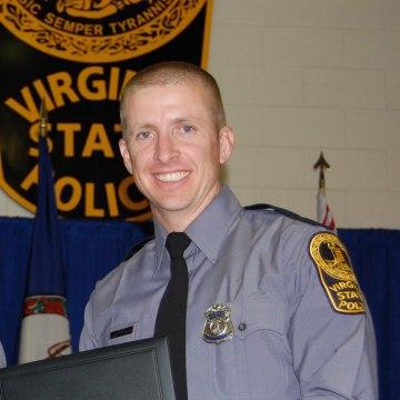 Image: Virginia State Trooper Chad P. Dermyer