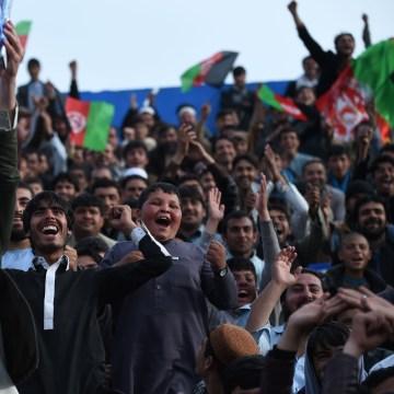 Image: Afghan cricket fans