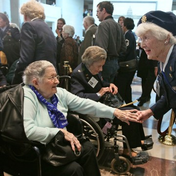 Women Airforce Service Pilots Awarded Congressional Gold Medal