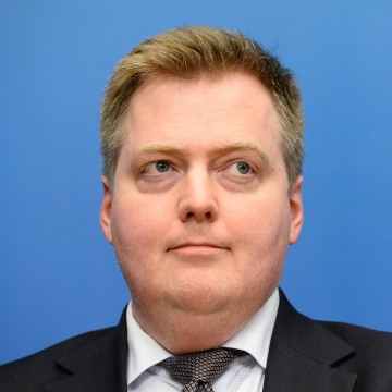 Image: Icelandic PM Sigmundur David Gunnlaugsson
