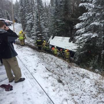 IMAGE: New York bus crash