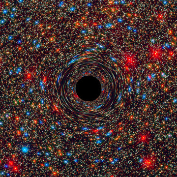 Image: Supermassive black hole