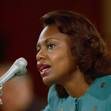 Anita Hill Testifying Before Senate Judiciary Committee
